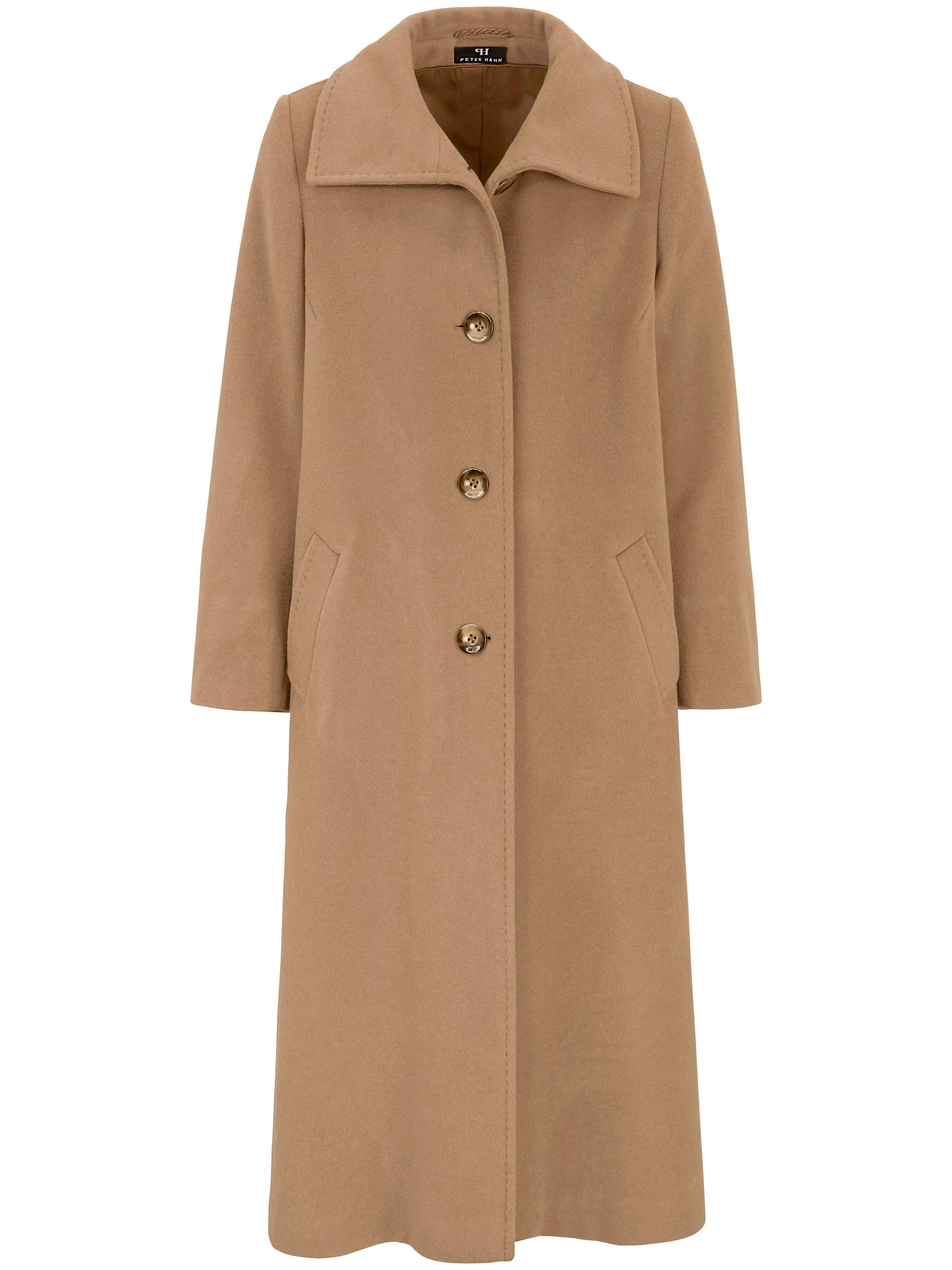 Le manteau coupe évasée  Peter Hahn marron taille 21