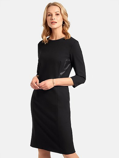 Basler - Trikåklänning med 3/4-ärm