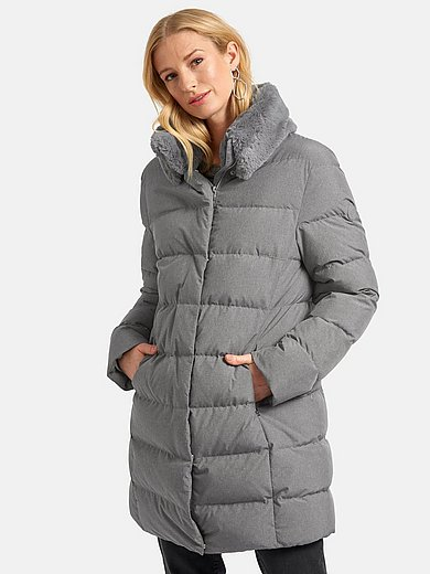 Basler - Down quilted jacket with stand-up collar