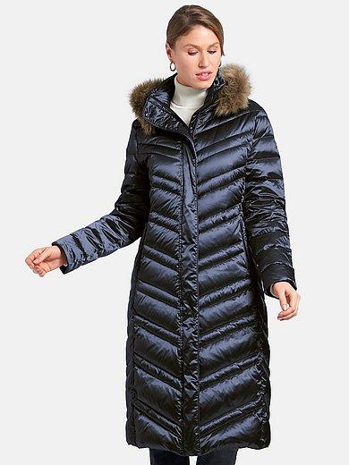 Basler - Quiltet dunfrakke med ståkrave