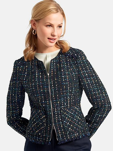 Basler - Slightly tailored jacket with patch pockets