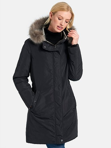 Basler - Keerbare lange jas met blinde 2-weg-ritssluiting
