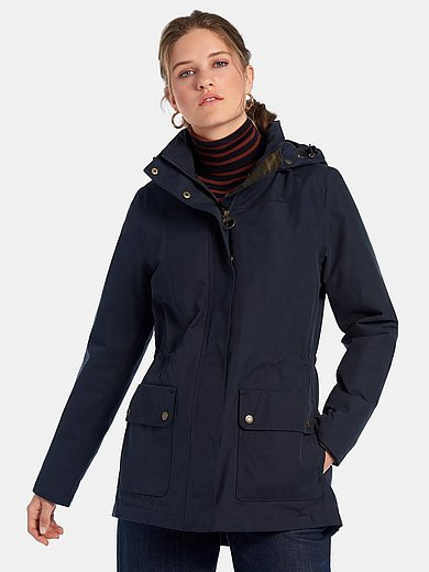 Barbour - Jacket with removable hood