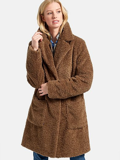 Basler - Knee-length coat with two patch pockets