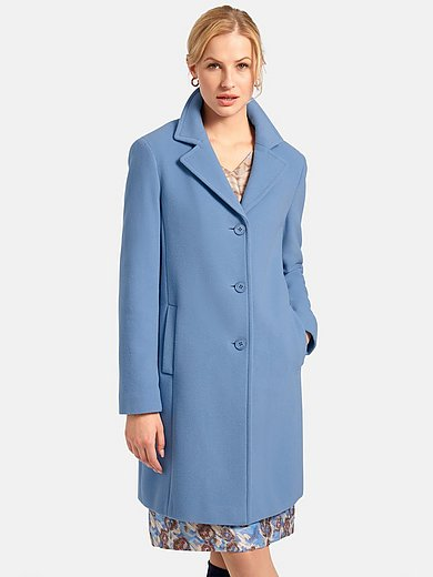 Basler - Knee-length coat with two seam pockets