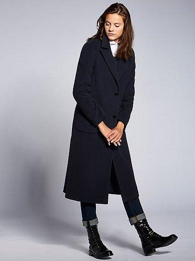 Basler - Lange jas met reverskraag en lengtedeelnaden