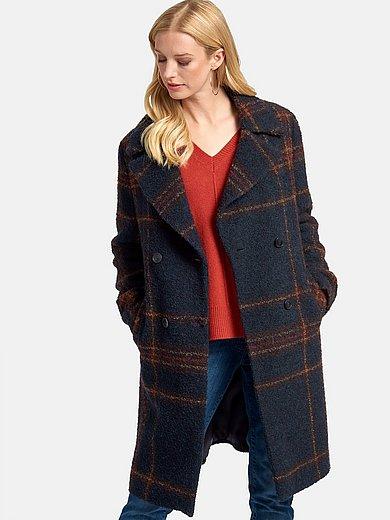 Basler - Knee-length coat with two welt pockets