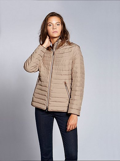 Basler - Quilted down jacket with a hood
