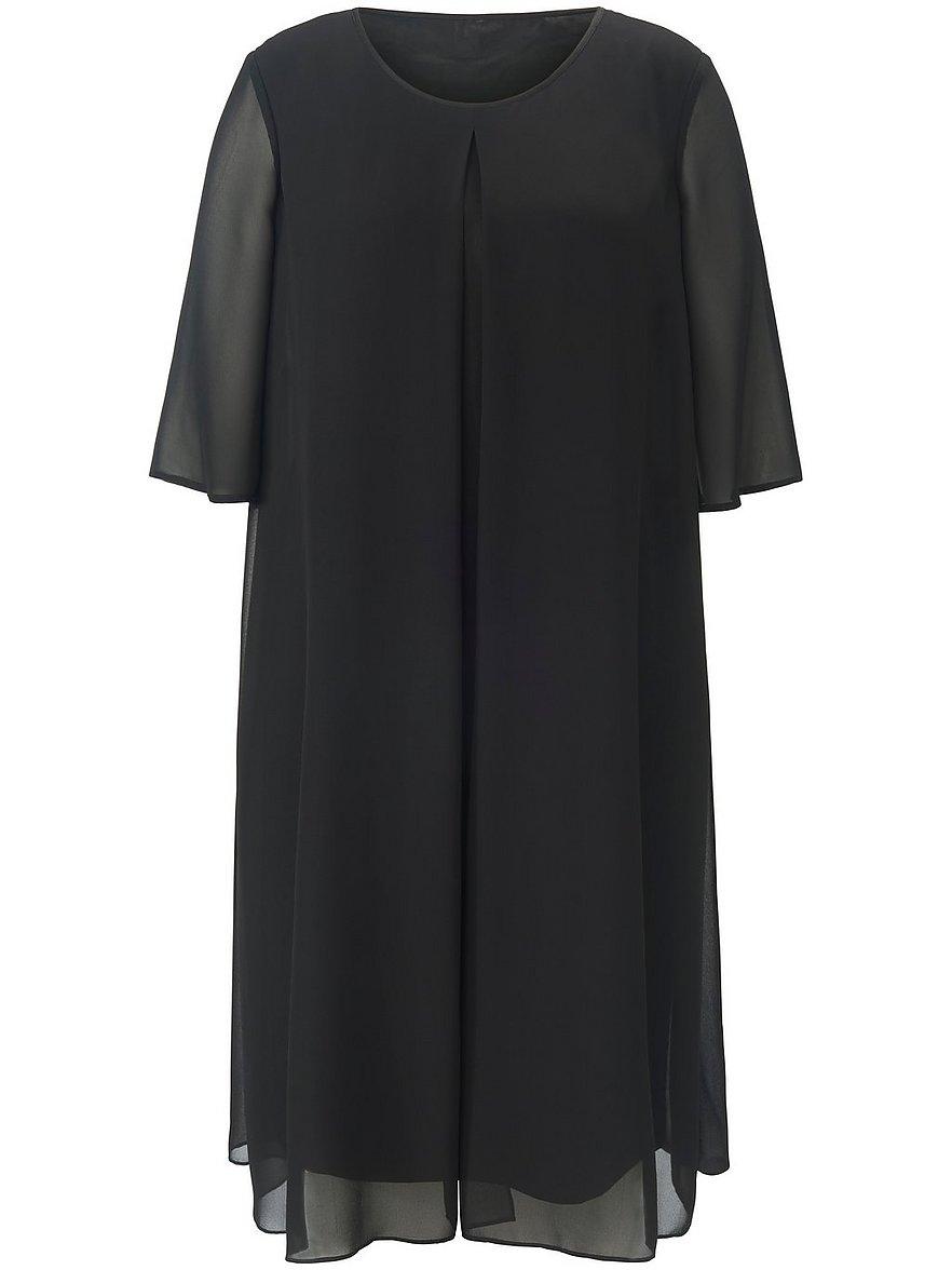 anna aura - Kleid langem 1/2-Arm  schwarz Größe: 42