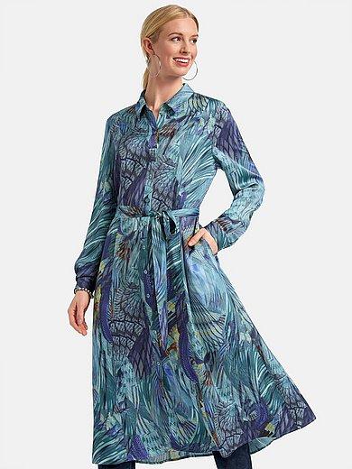Basler - La robe-chemise en satin de viscose