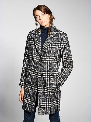Basler - Jacket in a wool blend with a revers collar