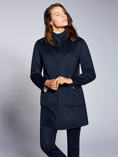 Basler - Reversible jacket with a raised collar
