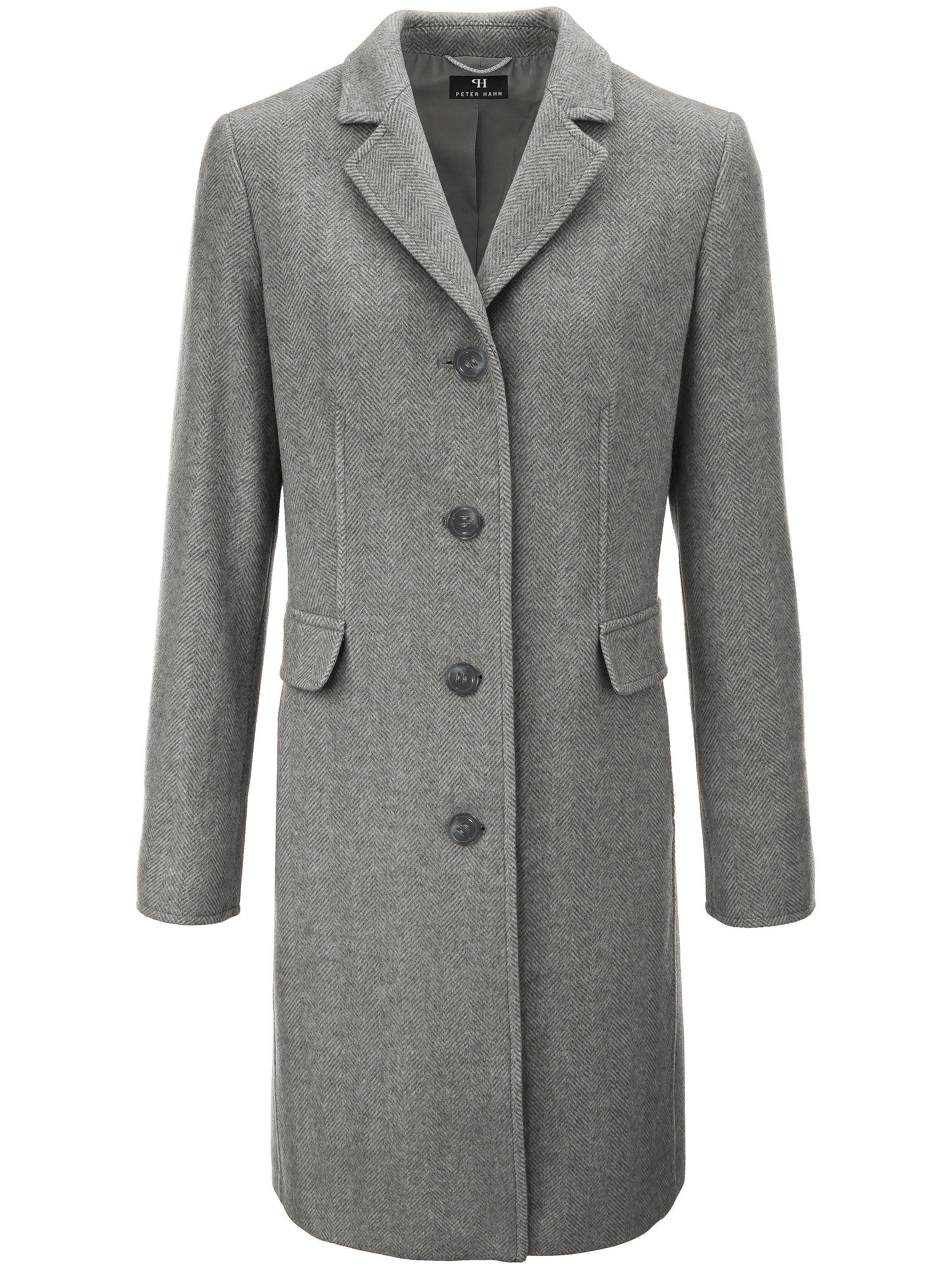 Le manteau court 100% laine vierge  Peter Hahn gris taille 25