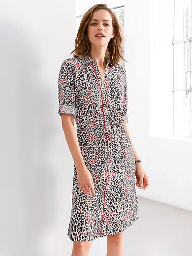 Looxent - La robe chemise manches 3/4