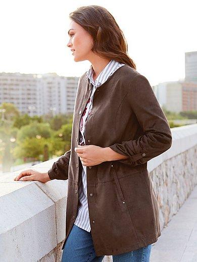 Emilia Lay - Kunstleder-Jacke zum Krempeln