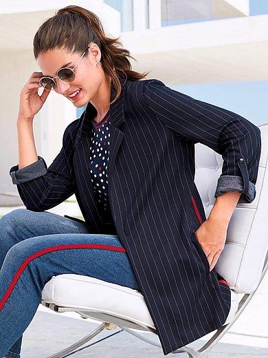 Emilia Lay - Jersey-Blazer zum Krempeln auf 3/4-Armlänge