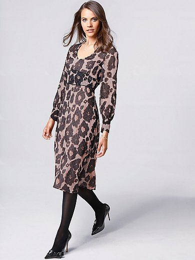 comma, - Dress with exclusive print