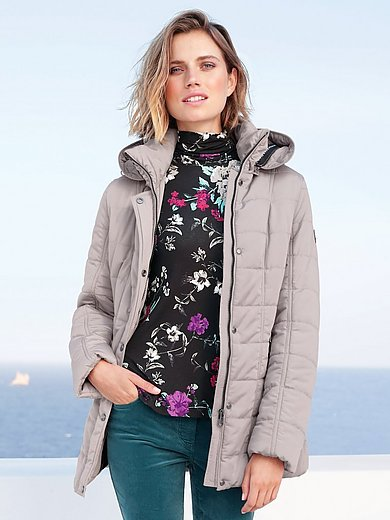 Betty Barclay - Quilted jacket with stand-up collar