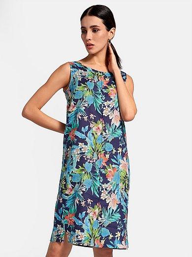 Peter Hahn - Mouwloze jurk van 100% linnen