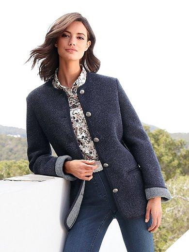 Giesswein - La veste en pure laine vierge foulée