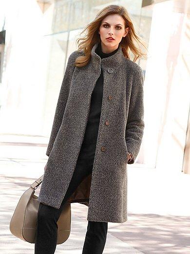ERRE - Le manteau 3/4 en laine vierge et alpaga