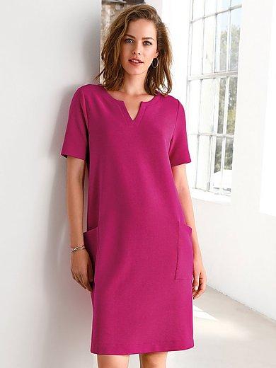 Looxent - Jersey-Kleid mit Rundhals-Ausschnitt
