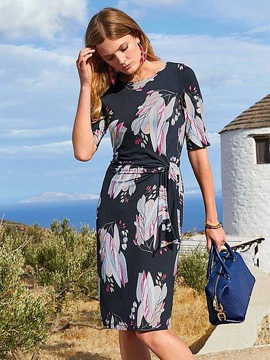 Uta Raasch - Jersey-Kleid mit Rundhals-Ausschnitt