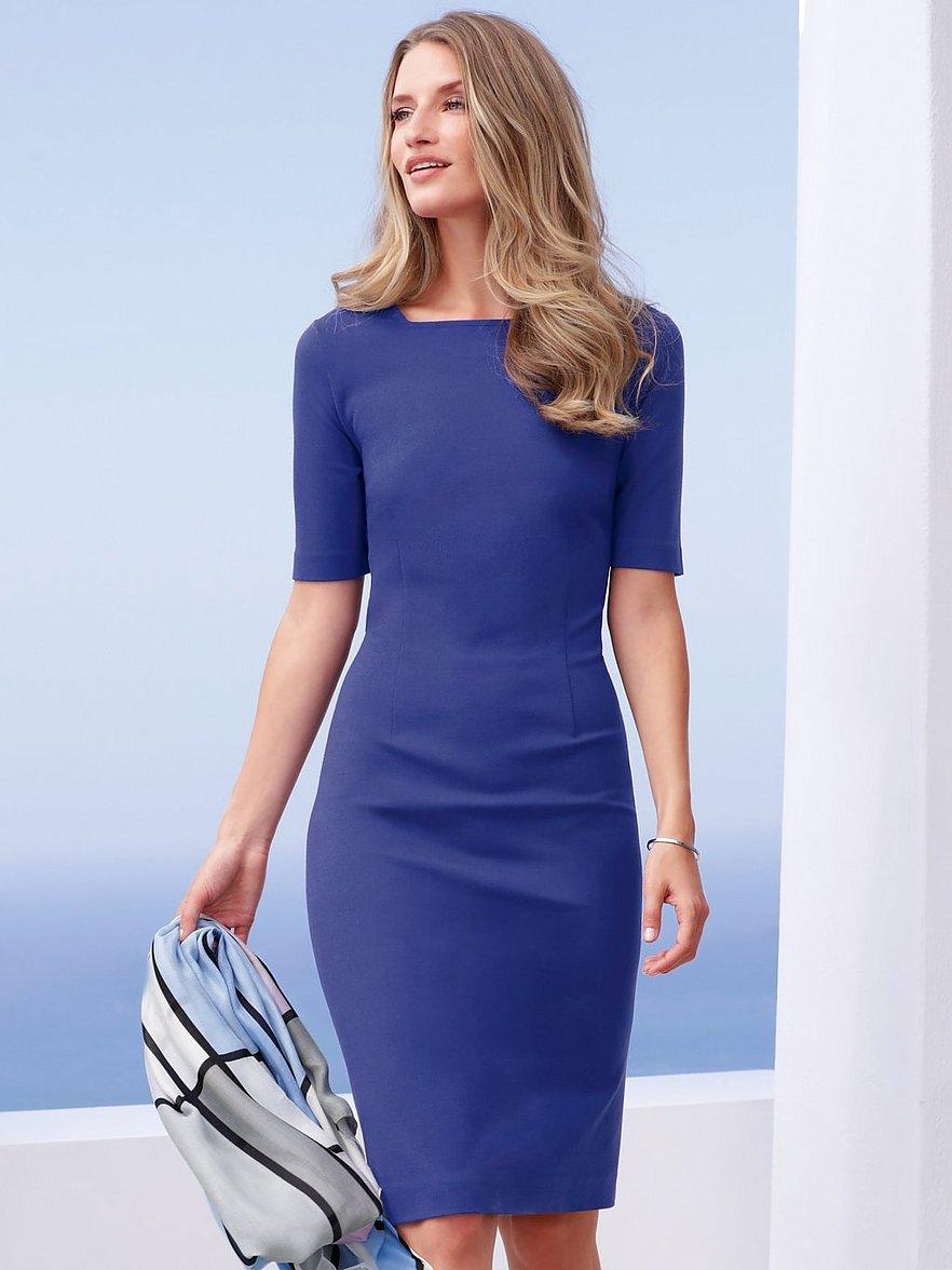Jersey-Kleid mit 18/18 Arm