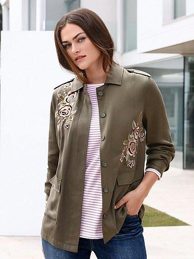 Emilia Lay - La veste brodée, ligne droite