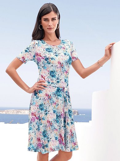 mayfair by Peter Hahn - Jersey-Kleid mit 1/2-Arm