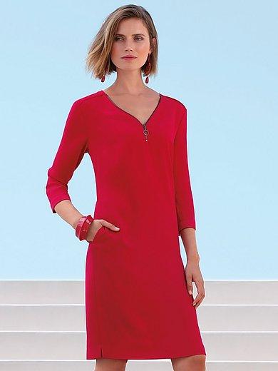 Gerry Weber - V-neck dress with 3/4-length sleeves