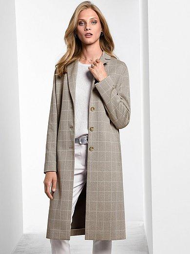 Fadenmeister Berlin - Le manteau en jersey à carreaux