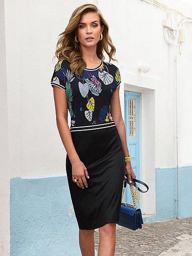 Laurèl - Jersey-Kleid mit überschnittener Schulter