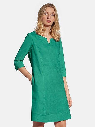 Basler - La robe 100% lin manches 3/4