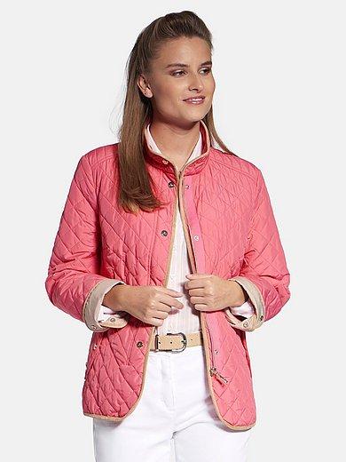 Basler - Quiltet jakke med standkrave