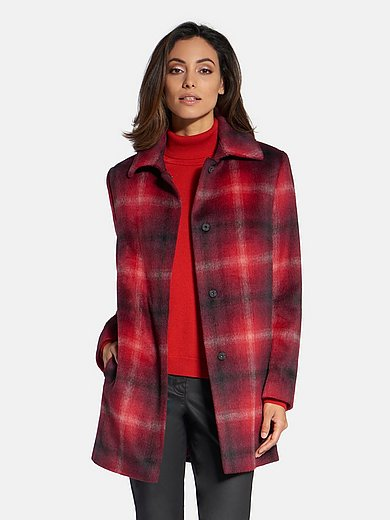 Basler - Jacket with checked pattern