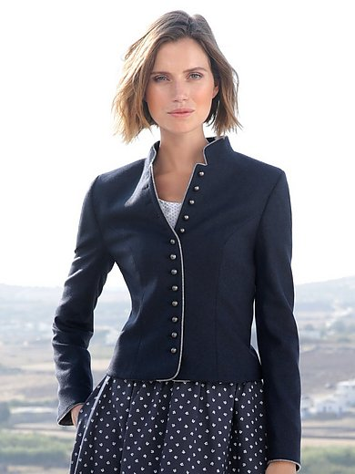 Hammerschmid - Country style jacket with a raised collar