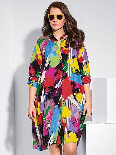 FRAPP - Allrounder: Hemdblusen-Kleid oder Long-Bluse