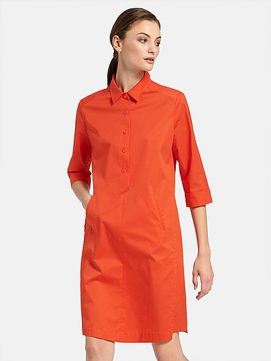 Riani - Dress with 3/4-length turn-up sleeves