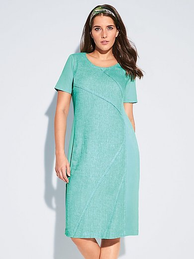 Doris Streich - Linen dress with short sleeves