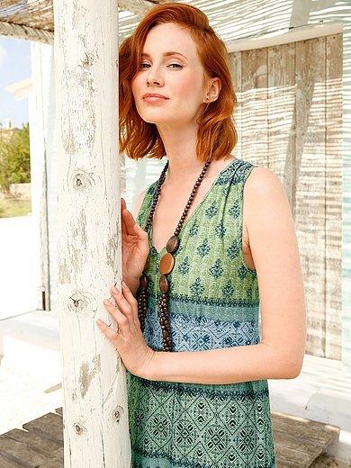 Green Cotton - Jersey dress