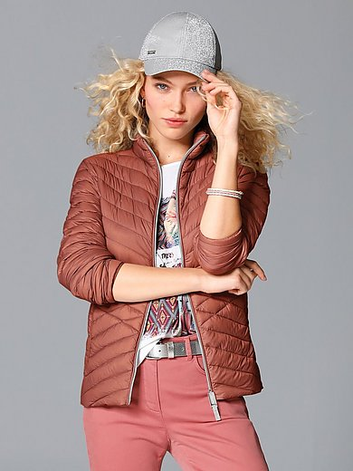 MYBC - Down jacket with stand-up collar