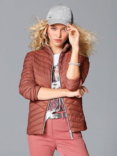 MYBC - Quiltet jakke med ståkrave