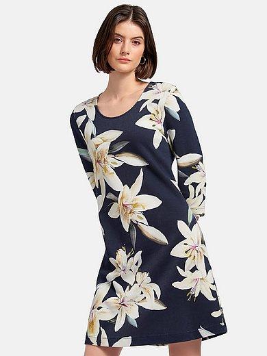 Efixelle - gebreide jurk met 3/4-mouwen