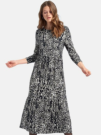 MYBC - La robe en jersey à imprimé animal