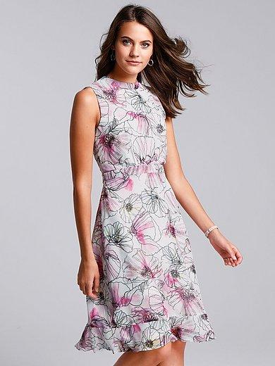 comma, - Sleeveless dress with waistband