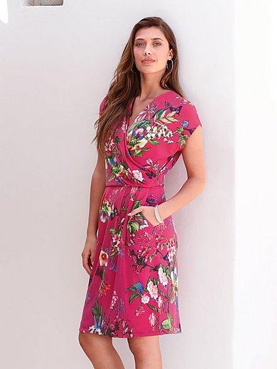 Betty Barclay - Jersey-Kleid mit überschnittener Schulter