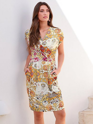 Betty Barclay - Jersey dress with wrap-over effect