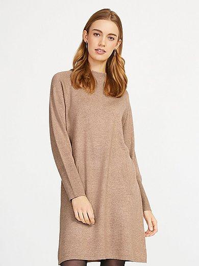 include - La robe en maille manches longues