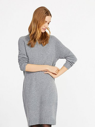 include - Knitted dress in 100% cashmere